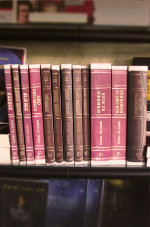 Avanture Erasta Fandorina - komplet 12 knjiga